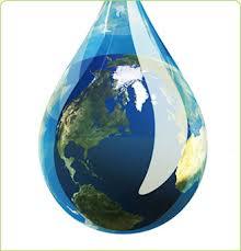gota agua mundo