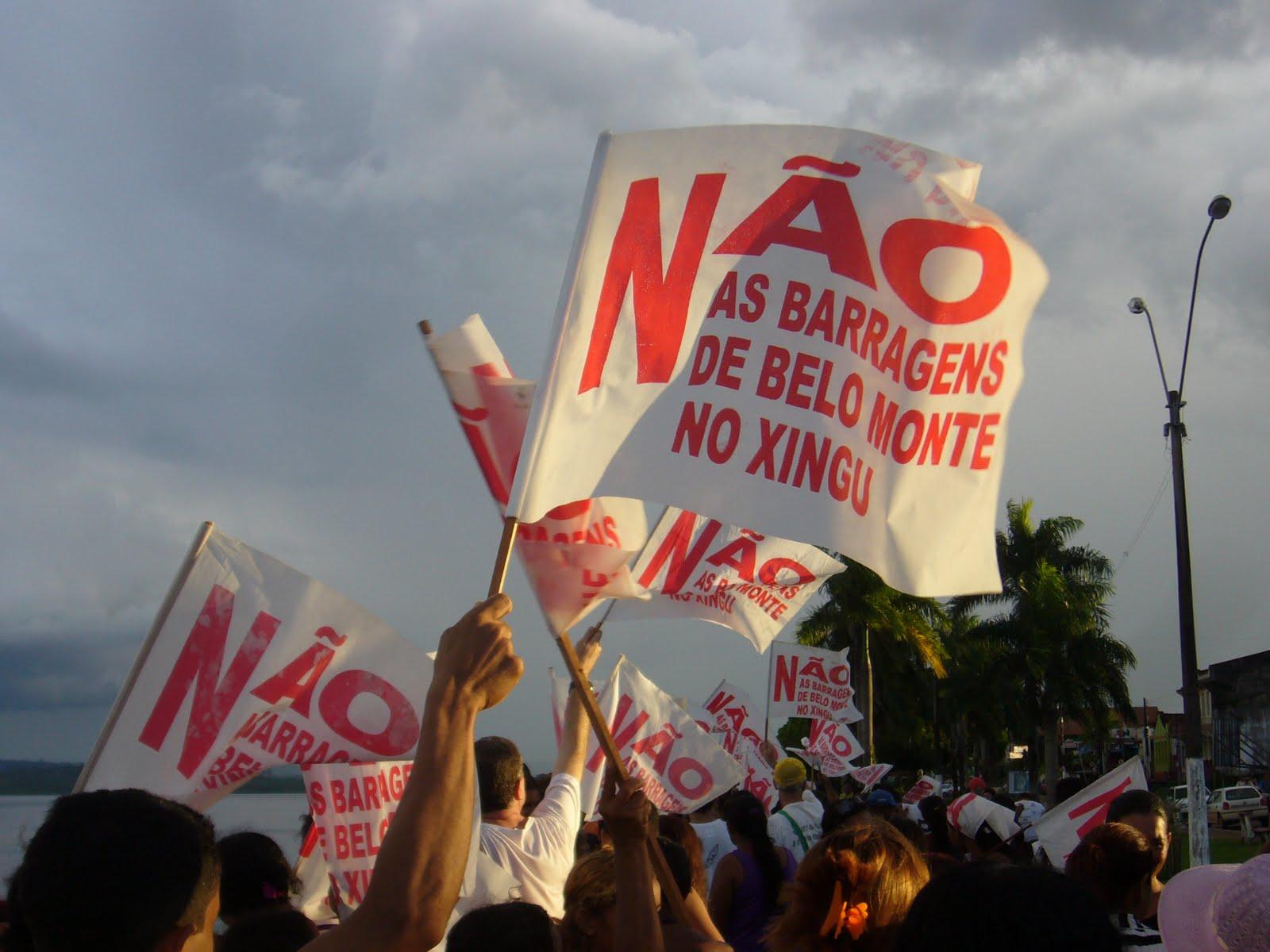Bandeiras-Não-Belo-Monte