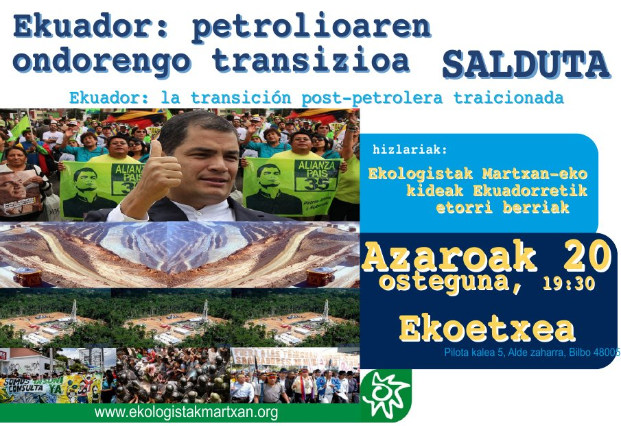 Ekuador: Petrolioaren