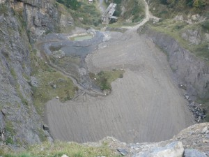 Cantera Artxondoko - humedal destruido