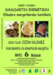 [:es]MICRO TALLER DE COCINA ENERGÉTICA[:eu]MIKRO-TAILERRA: SUKALDARITZA ENERGETIKOA[:] @ Centro Cívico Basozelai.   Basauri   Euskadi   Espainia