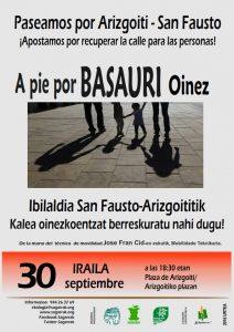 [:es]Paseo por San Fausto - Arizgoiti[:eu]Ibilaldia Arizgoiti - San Fausto[:] @ Arizgoitiko Plaza | Basauri | País Vasco | España