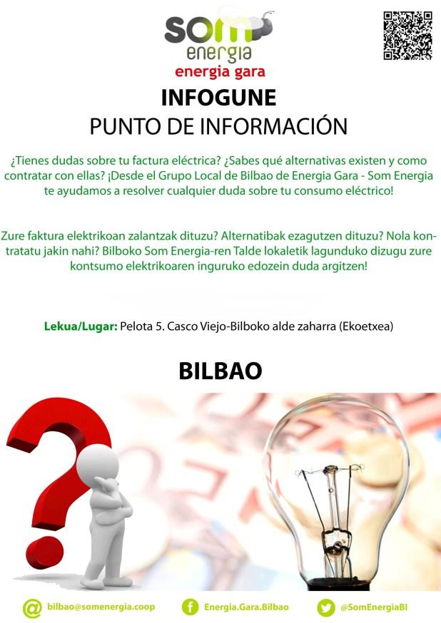 Infogune ENERGIA GARA Bilbo @ Ekoetxea. Pelota kalea 5, behea-bajo. Bilbao | Bilbo | Euskadi | España