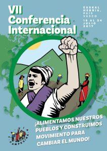 [:es]VII Conferencia Internacional de La Vía Campesina[:eu]La Via Campesinaren VII Nazioarteko Konferentzia [:] @ Derio, Antiguo Seminario