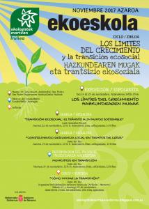 """[:es]EXPOSICIÓN """"Los límites del crecimiento""""[:eu]ERAKUSKETA """"Hazkundearen mugak""""[:] @ Museo de Educación Ambiental de San Pedro,Iruñea"""