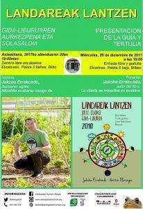 """[:es]Presentación del libro """"Landareak lantzen"""" y tertulia[:eu]""""Landareak lantzen"""" liburuaren aurkezpena eta solasaldia.[:] @ Ekoetxea. Pelota kalea 5, behea-bajo. Bilbao"""