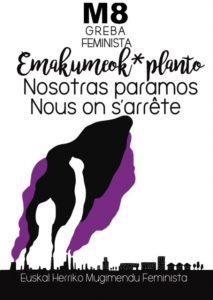 [:es]Huelga feminista[:eu]Greba feminista[:] @ Bilbo, Donostia, Iruñea, Gasteiz