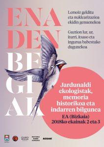 EA: Jardunaldi ekologistak, memoria historikoa eta indarren bilgunea @ Ea, Bizkaia