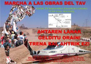 [:es]Marcha a las obras del TAV[:eu]AHTaren lanetara martxa[:] @ Martzilla