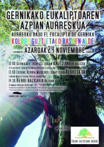[:es]Aurresku bajo el eucalipto de Gernika[:eu]Gernikako eukaliptuaren azpian aurreskua[:] @ Euskal Herria museoaren lorategian GERNIKA jardín del museo Euskal Herria