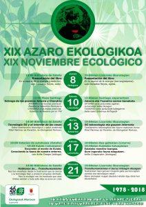 [:es]XIX Noviembre ecológico [:eu]XIX Azaro ekologikoa [:] @ Lizarra, Nafarroa