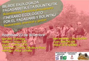 [:es]Itinerario ecológico por Pagasarri y Bolintxu[:eu]Ibilbide Ekologikoa Pagasarri eta Bolintxutik[:] @ Zabalburutik irteera/salida desde Zabalburu