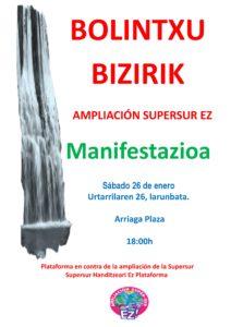 [:es]Manifestación (Bilbao): Bolintxu bizirik![:eu]Manifestazioa (Bilbo): Bolintxu bizirik![:] @ Plaza Arriaga, Bilbao