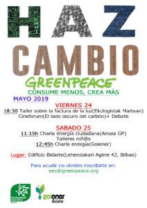 """[:es]Jornadas """"Haz cambio: consume menos, crea más"""" (Deusto, Bilbao)[:] @ Centro Cívico Bidarte"""
