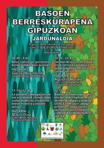 [:es]Jornada: Recuperación forestal en Gipuzkoa[:eu]Jardunaldia: Basoen berreskurapena Gipuzkoan[:] @ Hernaniko Oronan