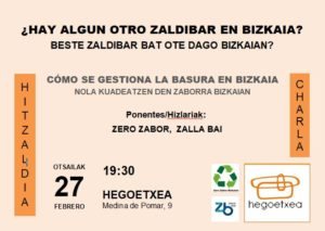 [:es]Charla (Irala): ¿Hay algún otro Zaldibar en Bizkaia?[:eu]Hitzaldia (Irala): Beste Zaldibar bat ote dago Bizkaian?[:] @ Hegoetxea