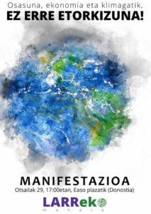 [:es]Manifestación (Donostia): Erraustegia gelditu![:eu]Manifestazioa (Donostia): Erraustegia gelditu![:]
