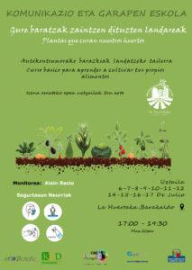 [:es]Curso: 'Plantas que curan nuestros huertos'[:eu]Ikastaroa: 'Gure baratzak zaintzen dituzten landareak'[:] @ La Huertaka - Alameda Serralta (Lutxana - Barakaldo)
