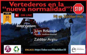 "[:es]Charla on line: Vertederos en la ""nueva normalidad""?[:eu]HItzaldia on line: ""Normaltasun berrian"" zabortegiak?[:]"
