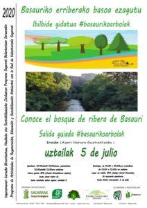 [:es]Salida guiada: conoce el bosque de ribera de Basauri[:eu]Ibilbide gidatua: Basauriko erriberako basoa ezagutu[:]