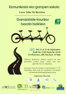 [:es]Curso taller de bicicletas[:eu]Bizikleta ikastaro taillera [:]