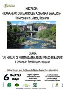 [:es]Charla (Basauri): Las huellas de nuestros árboles del pasado en Basauri. Iª Semana del Árbol Urbano[:eu]Hitzaldia (Basauri): Iraganeko gure arbolen aztarnak Basaurin. Hiri-Arbolaren I. Astea[:] @ Pozokoetxe Kultur etxea