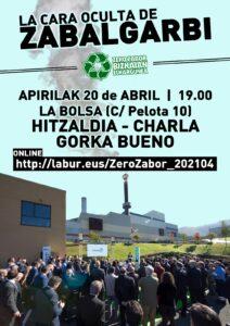 [:es]Charla (Bilbao): La cara oculta de Zabalgarbi[:eu]Hitzaldia (Bilbo): La cara oculta de Zabalgarbi[:]