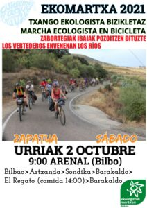Ekomartxa 2021 (Bizkaia) @ Arenal (Bilbao)